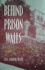 BEHIND PRISON WALLS by Tzila Amidror Heller