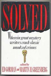 SOLVED by Ed Gorman