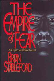 THE EMPIRE OF FEAR by Brian Stableford