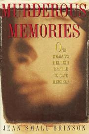 MURDEROUS MEMORIES by Jean Small Brinson