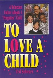 Cover art for TO LOVE A CHILD