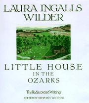 LITTLE HOUSE IN THE OZARKS by Laura Ingalls Wilder