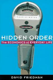 HIDDEN ORDER by David D. Friedman