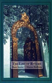 THE LAW OF RETURN by Maxine Rodburg