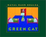 GREEN CAT by Dayal Kaur Khalsa