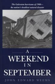 A WEEKEND IN SEPTEMBER by John Edward Weems