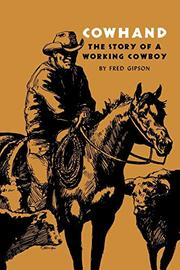 COWHAND by Fred Gipson
