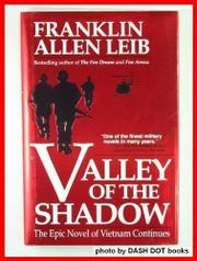 VALLEY OF THE SHADOW by Franklin Allen Leib