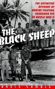 THE BLACK SHEEP by Bruce Gamble