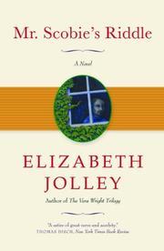MR. SCOBIE'S RIDDLE by Elizabeth Jolley