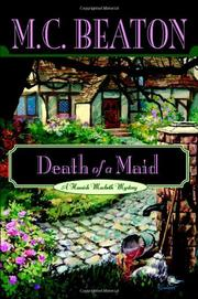 DEATH OF A MAID by M.C. Beaton