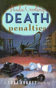 DEATH PENALTIES by Paula Gosling