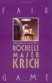 FAIR GAME by Rochelle Majer Krich