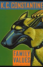 Cover art for FAMILY VALUES