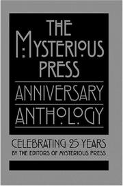 THE MYSTERIOUS PRESS ANNIVERSARY ANTHOLOGY by Mysterious Press