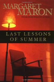 Cover art for LAST LESSONS OF SUMMER