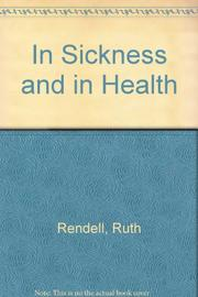 IN SICKNESS AND IN HEALTH by Ruth Rendell