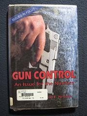 GUN CONTROL by David E. Newton
