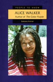 ALICE WALKER by Barbara Kramer