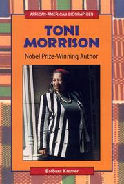 TONI MORRISON by Barbara Kramer