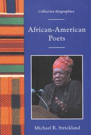 AFRICAN-AMERICAN POETS by Michael R. Strickland