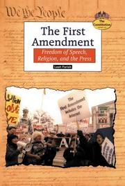 THE FIRST AMENDMENT by Leah Farish