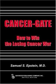 CANCER-GATE by Samuel S. Epstein