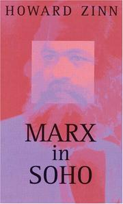Book Cover for MARX IN SOHO