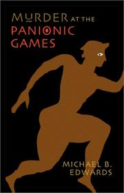 MURDER AT THE PANIONIC GAMES by Michael B. Edwards