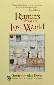 RUMORS FROM THE LOST WORLD by Alan Davis
