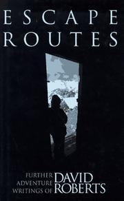 ESCAPE ROUTES by David Roberts
