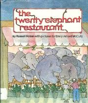 TWENTY ELEPHANT RESTAURANT by Russell Hoban