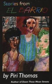 STORIES FROM EL BARRIO by Piri Thomas