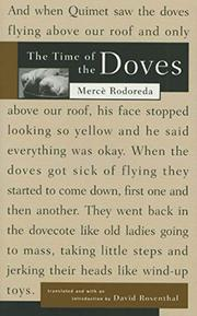 THE TIME OF THE DOVES by Merce Rodoreda