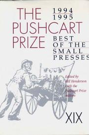 THE PUSHCART PRIZE XIX by Bill Henderson