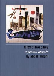TALES OF TWO CITIES by Abbas Milani