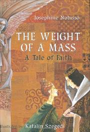 Cover art for THE WEIGHT OF A MASS