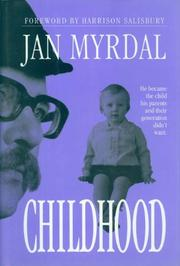 CHILDHOOD by Jan Myrdal