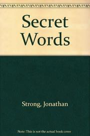 SECRET WORDS by Jonathan Strong
