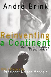 REINVENTING A CONTINENT by André Brink