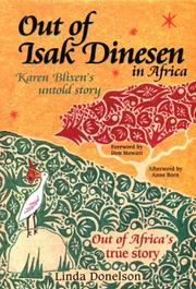 OUT OF ISAK DINESEN by Linda Donelson