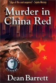 MURDER IN CHINA RED by Dean Barrett
