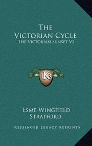 THE VICTORIAN CYCLE by Wingfield-Stratford