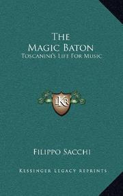 THE MAGIC BATON by Filippo Sacchi
