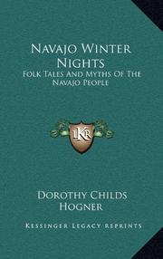 NAVAJO WINTER NIGHTS by Dorothy Childs Hogner