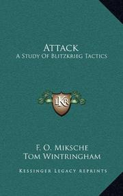 ATTACK by F. C. Miksche