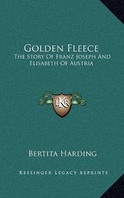 GOLDEN FLEECE by Bertita Harding