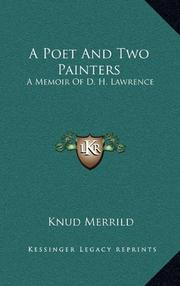 A POET AND TWO PAINTERS by Knud Merrild