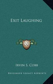 EXIT LAUGHING by Irvin S. Cobb