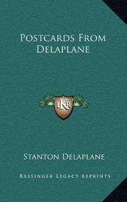 POSTCARDS FROM DELAPLANE by Stanton Delaplane